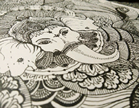 doodle :ganesha