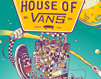 HOUSE OF VANS 2014 Asia Poster