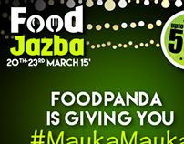 Food Jazba- foodpanda Online Campaign