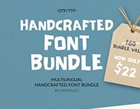 Handwritten Font Bundle Pack