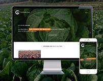 Haenamchan, a web design for a farm