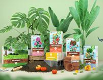Plantura — Branding and Packaging Design