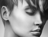 Girl Portrait - Digital Painting