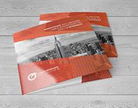Tri fold Square Brochure