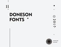 2017 fonts work