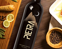 "Logo development for wine products ""Pietra"""
