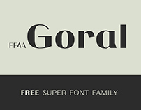 Goral - free super font family
