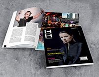 Progetto grafico e realizzazione magazine HH