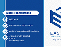 Eastern Letter head, business card