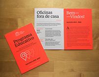 Serviço Educativo — Casa Fernando Pessoa — EGEAC