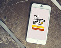 The Subwich Shop - UX Design