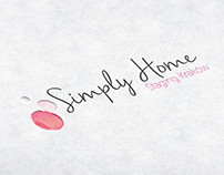 Logo & branding Simply Home