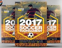 2017 Soccer Tournament Flyer Template