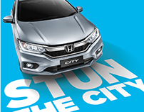 Honda City minor model change