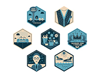 Badges & Illustration