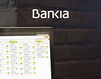 Bankia: Aplicación de banca corporativa para gestores