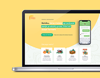 Yarmark - landing page for farmers