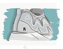 Reebok x Vetements Sneaker