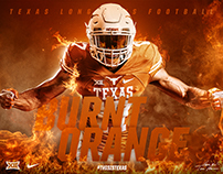 Texas Longhorns Uniform Graphics
