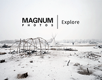 Magnum Photos Explore Photo Interface