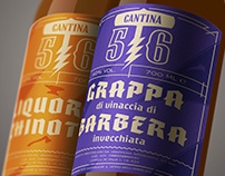 Cantina 56 - Logo, branding and packaging