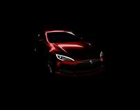 Test animation of Tesla Model S