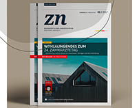 zn - redesign of a dental news magazine