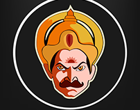 Mahabaratha Icon - KARNA Concept Logo