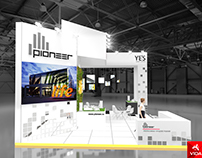 Exhibition stand for Pioneer