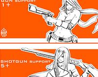 Patreon Gun Girls