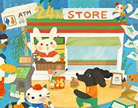 神奇便利店 Convenience store