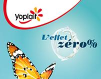 YOPLAIT - L'effet zéro %