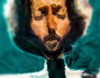 Eric Clapton Portrait