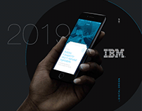 IBM Data Visualisation + UX/UI