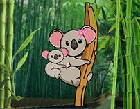 Postcard 'Koala'