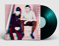 MAJID JORDAN VINYL DESIGN - for fun