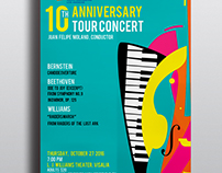 Poster: Tulare County Symphony