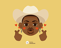 Lil Nas X - kakao motion emoticon