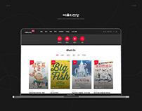 예술의전당(Seoul Art Cent) web page re-design