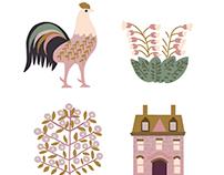 Paris Love Nest Icons