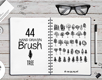 44 Trees Brushes