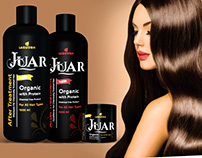 LAGUOSH / Hair care Products/ Sticker and Labels design