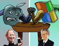 Apple vs Microsoft: A Rivalry Fought On Digital Grounds