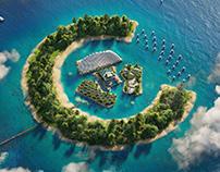 Cloud Islands project by Matej Hosek