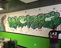 Valor Vapor - Mural Art