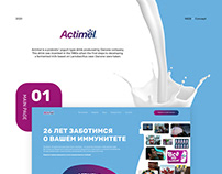 Actimel concept