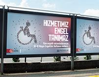 Engelliler Haftası Billboard Çalışması
