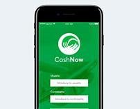 UX/UI design cash startup