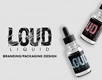 Loud Liquid - E-liquid Branding/Packaging Design