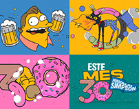 30 Personajes Simpson